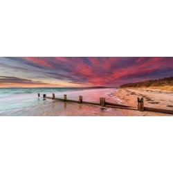 Puzzle Pláž McCrae, Austrálie - PANORAMATICKÉ PUZZLE