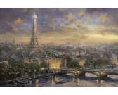 Puzzle Paříž - město lásky