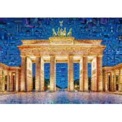 Puzzle Berlín - koláž z fotek