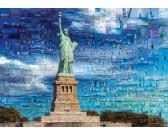Puzzle New York - koláž z fotek