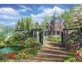 Puzzle Dům v zahradě