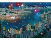 Puzzle Ohňostroje nad Hong Kongem