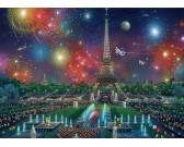 Puzzle Ohňostroje nad Paříží