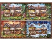 Puzzle Dům - čtvero ročních období