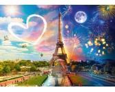 Puzzle Paříž - den a noc