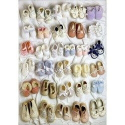 Puzzle Dětské botičky