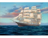 Puzzle Plachetnice na širém moři