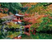 Puzzle Jezero v japonské zahradě