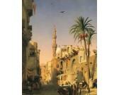 Puzzle Ulice v Káhiře