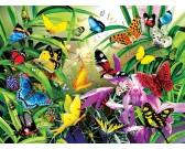 Puzzle Tropičtí motýli