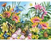 Puzzle Zahrada plná barev