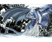 Puzzle Ledový drak