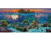 Puzzle Korálový útes - PANORAMATICKÉ PUZZLE