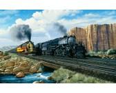 Puzzle Vlaky