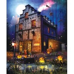 Puzzle Strašidelný dům