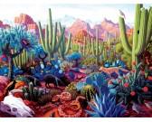 Puzzle Země kaktusů