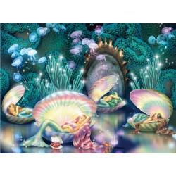 Puzzle Spící mořské víly