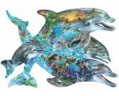 Puzzle Zpěv delfínů - KONTURA PUZZLE