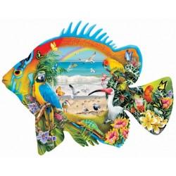 Puzzle Tropická ryba - KONTURA PUZZLE