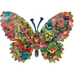 Puzzle Motýl - svět motýlků - KONTURA PUZZLE