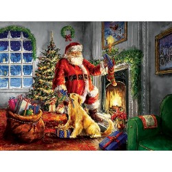 Puzzle Santa Klaus - XXL PUZZLE