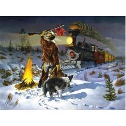 Puzzle Noční vlak