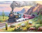 Puzzle Vlak v poušti - XXL PUZZLE