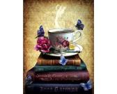 Puzzle Čaj a knížky