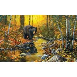 Puzzle Medvěd u potoka