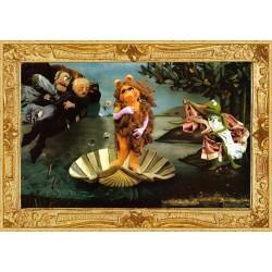 Puzzle Muppets - Zrození Venuše