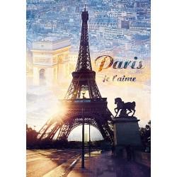 Puzzle Paříž