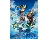 Puzzle Královna moří