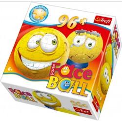 Puzzle Žlutý - FACEBALL