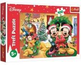 Puzzle Mickey Mouse - Vánoce - DĚTSKÉ PUZZLE