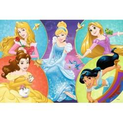 Puzzle Pět princezen - DĚTSKÉ PUZZLE