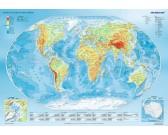 Puzzle Geografická mapa světa
