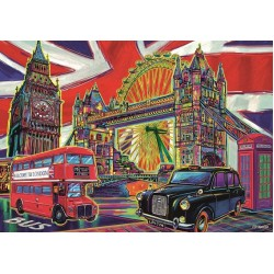Puzzle Barvy Londýna