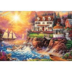 Puzzle Dům na útesu