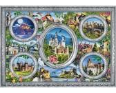 Puzzle Hrady a zámky světa