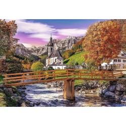 Puzzle Podzimní Bavorsko