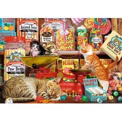 Puzzle Zvědavé kočičky