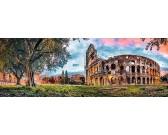 Puzzle Koloseum, Řím - PANORAMATICKÉ PUZZLE