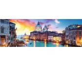Puzzle Canal Grande, Benátky - PANORAMATICKÉ PUZZLE