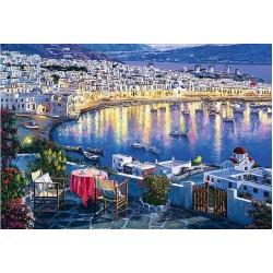 Puzzle Mykonos, Řecko