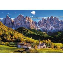 Puzzle Val di Funes, Itálie