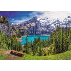 Puzzle Švýcarské Alpy