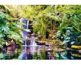 Puzzle Vodopád v džungli