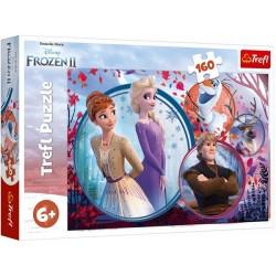 Puzzle Ledové království II - DĚTSKÉ PUZZLE