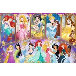 Puzzle Úžasný svět princezen - DĚTSKÉ PUZZLE