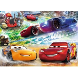 Puzzle Cars - závody - DĚTSKÉ PUZZLE